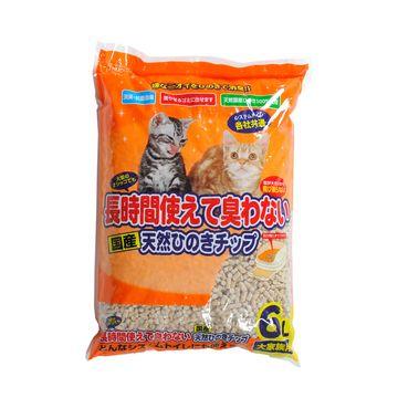 株式会社 ペットプロジャパン ■ペットプロ 長時間使えて臭わない 天然ひのきチップ 6L