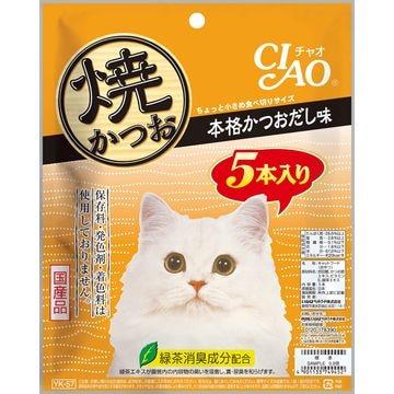 いなばペットフード 株式会社 ■CIAO 焼かつお 本格かつおだし味 5本 YK-57