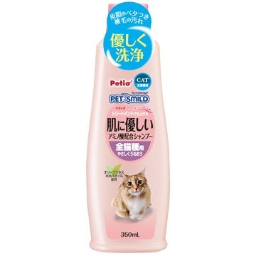 株式会社 ペティオ ■ペッツスマイルド 肌に優しい アミノ酸配合シャンプー 全猫種用 350ml
