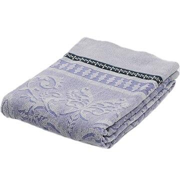 西川 ■タオルケット シングル 綿100% コットン 甘撚り 吸水 140×190cm ブルー FR01040011B