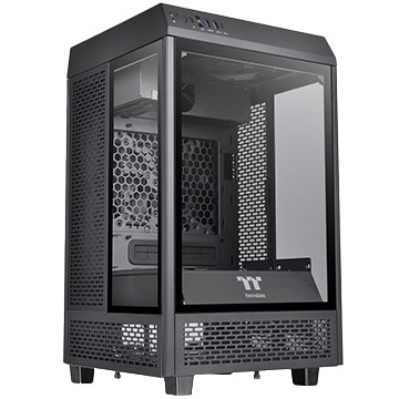 Thermaltake PCケース The Tower 100 CA-1R3-00S1WN-00