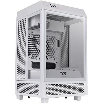 Thermaltake PCケース The Tower 100 Snow Edition CA-1R3-00S6WN-00