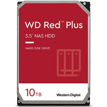 WD Red Plus シリーズ 3.5インチ 内蔵 HDD 10TB 7200rpm