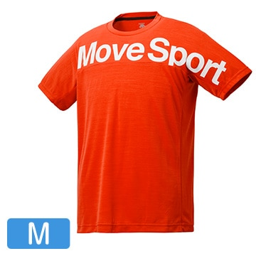 サンスクリーン Tシャツ杢/オレンジ杢/Mサイズ