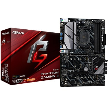 ASRock ■X570 Phantom Gaming 4 X570-Phantom-Gaming-4