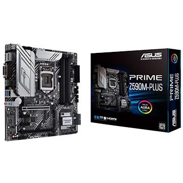 ASUS マザーボード Intel Z590搭載 MicroATX Z590M-PLUS PRIME/Z590M-PLUS