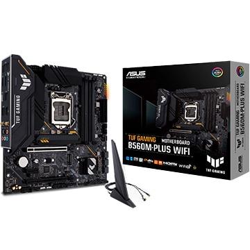 ASUS マザーボード Intel B560搭載 MicroATX B560M-PLUS WIFI TUFシリーズ TUFG/B560M-PLUS/WIFI