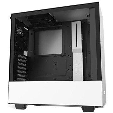 NZXT PCケース H510 ミドルタワー [ White & Black ] CA-H510B-W1