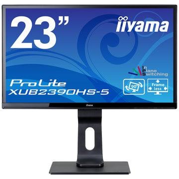 iiyama 23型ワイド液晶ディスプレイ XUB2390HS-5 ブラック XUB2390HS-B5