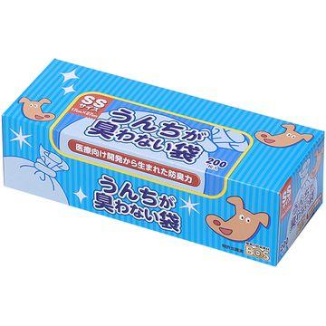 クリロン化成 株式会社 ■うんちが臭わない袋 BOS イヌ用 SSサイズ 200枚入