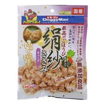 ドギーマンハヤシ 株式会社 ■絹紗 キューブ 野菜入り 100g