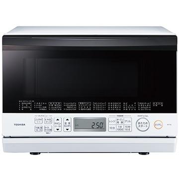 TOSHIBA 石窯オーブンレンジ 23L グランホワイト ER-T60(W)