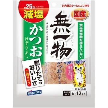 はごろもフーズ 株式会社 ■無一物 減塩かつお けずりぶし 1g×12袋