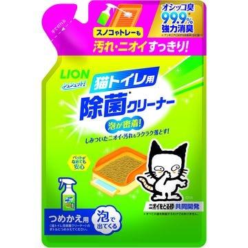 ライオン商事 株式会社 ■シュシュット! 猫トイレ用 除菌クリーナー つめかえ用 220ml