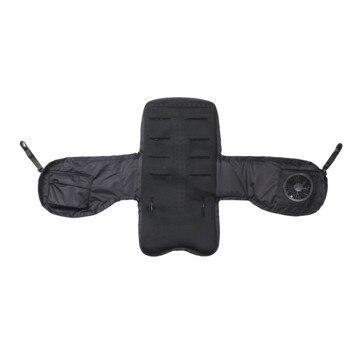 BabyHopper ■空調ベビーカーシート(TM) ブラック WKBH02001