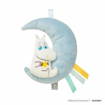 MOOMIN BABY ■にぎにぎラトル 月とムーミン TYMB008000300