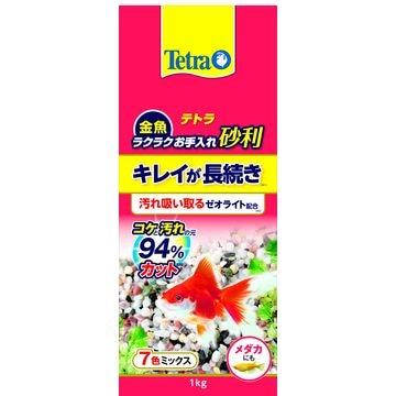 スペクトラムブランズジャパン 株式会社 ■テトラ 金魚 ラクラクお手入れ砂利 7色ミックス 1kg