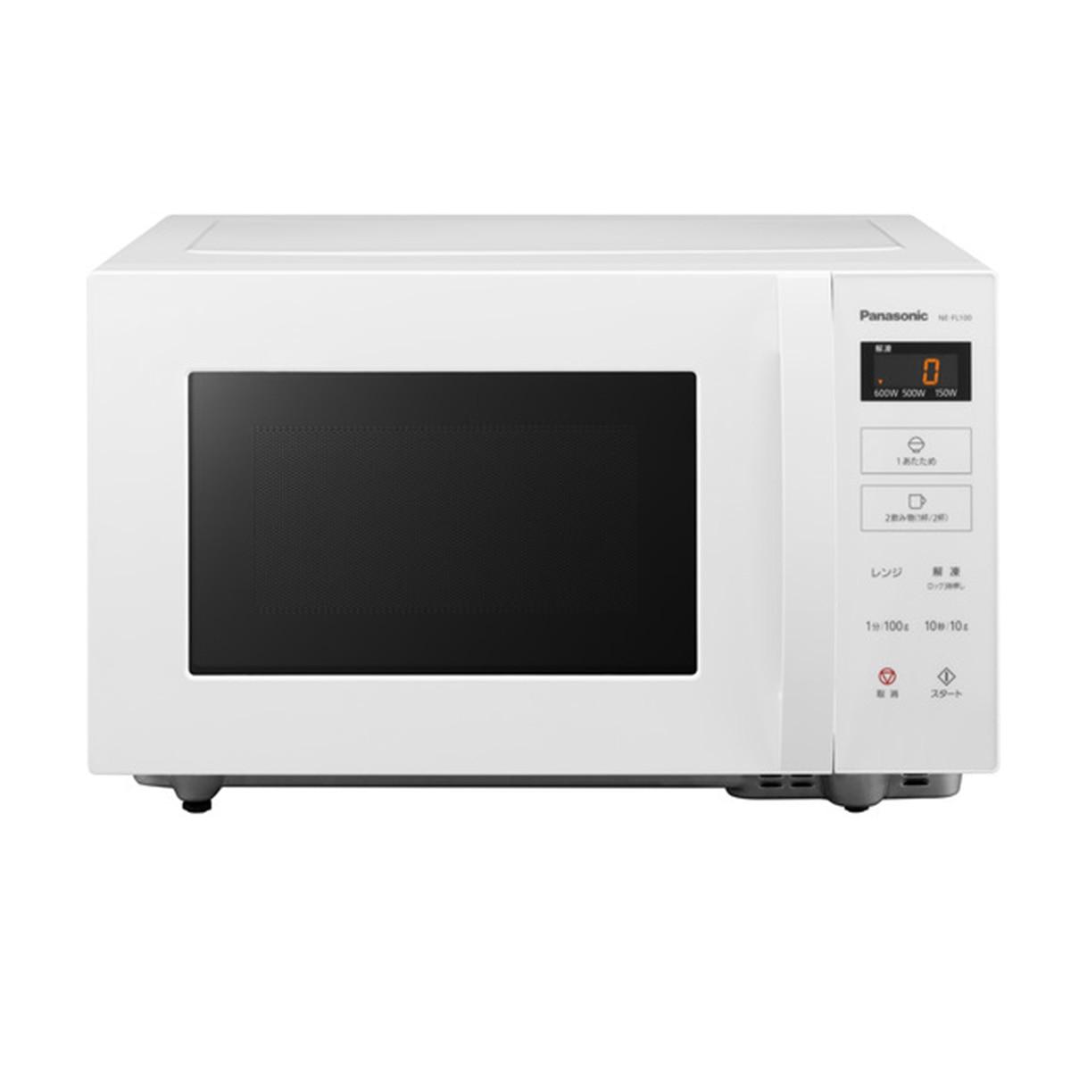Panasonic 単機能レンジ (ホワイト) NE-FL100-W