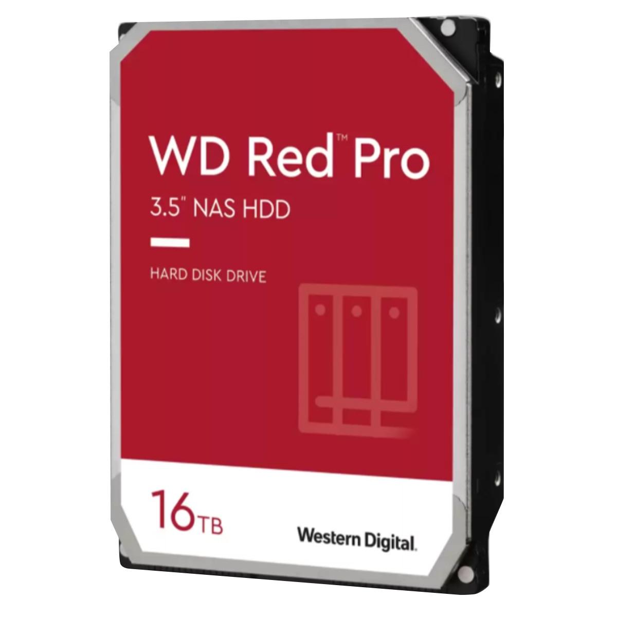 WesternDigital ■WD Red Pro シリーズ 3.5インチ 内蔵 HDD 16TB 7200rpm WD161KFGX-R