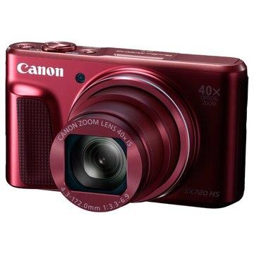 CANON デジタルカメラ PowerShot SX720 HS (レッド) 1071C004