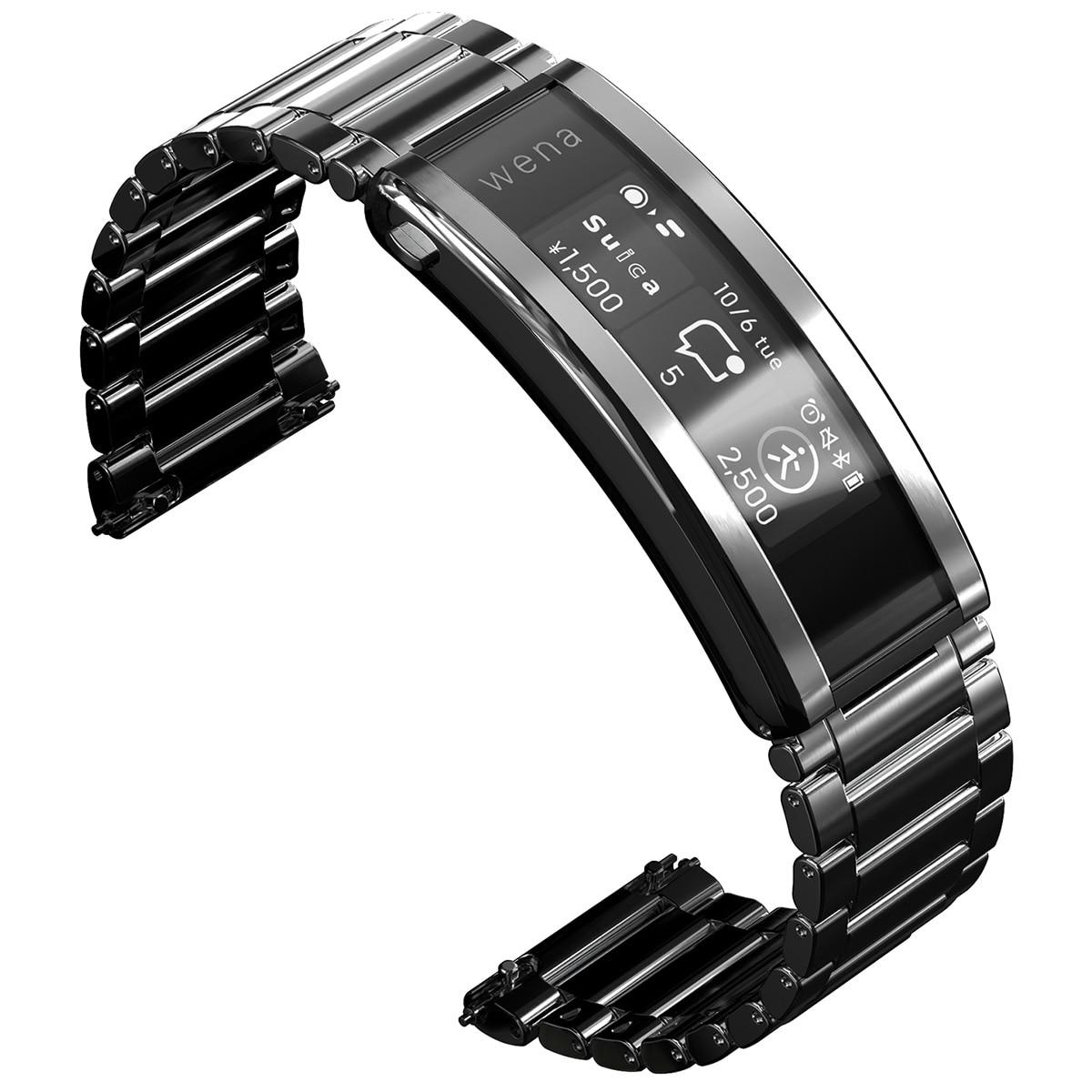 SONY wena 3 metal Silver スマートウォッチ WNW-B21A/S