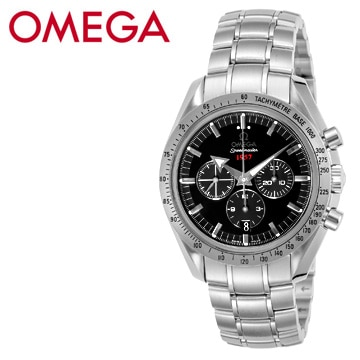 オメガ スピードマスター ブロード・アロー クロノグラフ 自動巻き(ブラック) 321.10.42.50.01.001