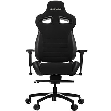 Racing Series P-Line PL4500 Coffee Fiber with Silver Gaming Chair Black&Carbon