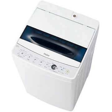 ハイアール 全自動洗濯機 5.5kg ホワイト 【配送のみ設置なし 軒先渡し】 JW-C55D-W