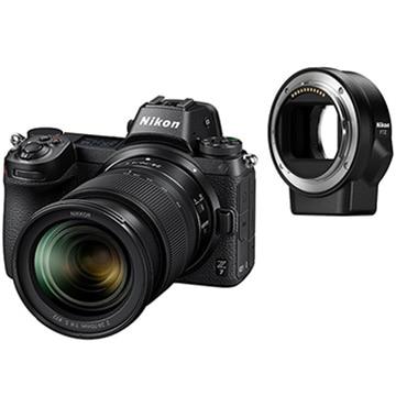ニコン ミラーレスカメラ Z7 24-70+FTZ マウントアダプターキット Z7LK24-70FTZKIT