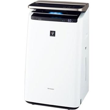 シャープ 加湿空気清浄機 プレミアムモデル プラズマクラスターNEXT ホワイト KI-JP100-W