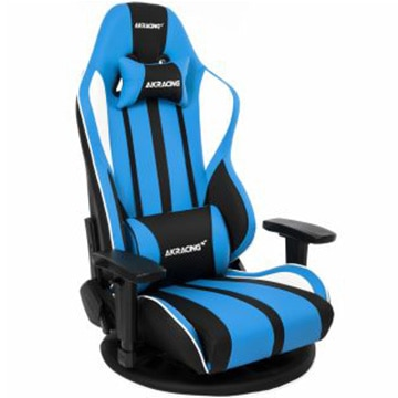 AKRacing ■ゲーミング座椅子 Gyokuza V2 Gaming Floor Chair(Blue) GYOKUZA/V2-BLUE