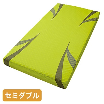 nishikawa ■AiR ベッドマットレス イエロー 高反発 厚み14cm セミダブル HC19801627