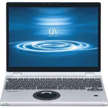 Panasonic Let's note QV8 店(i5/10P/SV&BK) CF-QV8NDMQR