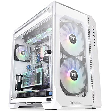 Thermaltake フルタワー型PCケース VIEW 51 TG ARGB -Snow Edition- CA-1Q6-00M6WN-00