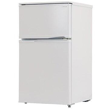 A-Stage 2ドア冷凍/冷蔵庫 90L ホワイト 【配送のみ設置無し 軒先渡し】 BR-90W