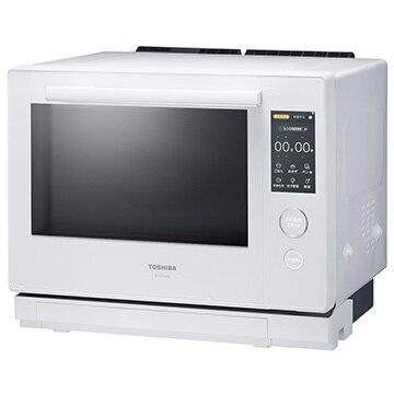 TOSHIBA 過熱水蒸気オーブンレンジ 石窯ドーム グランホワイト ER-VD7000(W)