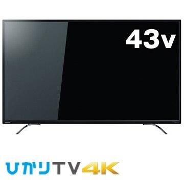 東芝 【4K対応】43V型液晶テレビ REGZA 43C310X