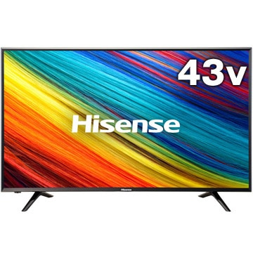 ハイセンス 【4K対応】43V型LED液晶テレビ HJ43N3000