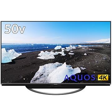シャープ 新4K衛星放送チューナー内蔵 50V型液晶テレビ AQUOS AN1ライン 4T-C50AN1