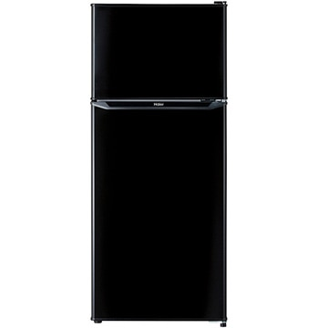 ハイアール 2ドア冷蔵庫 130L 直冷式 ブラック【配送のみ設置無し 軒先渡し】 JR-N130A-K