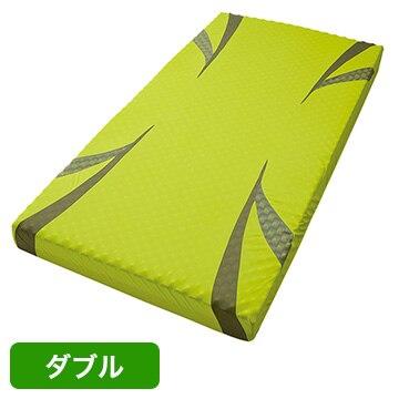 nishikawa ■AiR ベッドマットレス イエロー 高反発 厚み14cm ダブル HC29101628