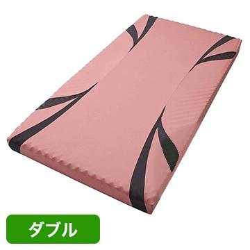 nishikawa ■AiR ベッドマットレス ピンク 高反発 厚み14cm ダブル HC29101628