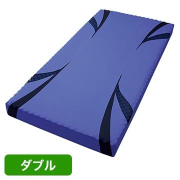 nishikawa ■AiR ベッドマットレス ブルー 高反発 厚み14cm ダブル HC29101638