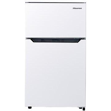 Hisense 2ドア冷蔵庫 93L ホワイト【配送のみ 設置なし 軒先渡し】 HR-B95A