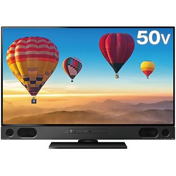 三菱電機 REAL 50V型4K録画液晶テレビ 4KBS/CSチューナー内蔵 LCD-A50RA2000