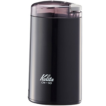 カリタ 電動コーヒーミル CM-50 ブラック 43017
