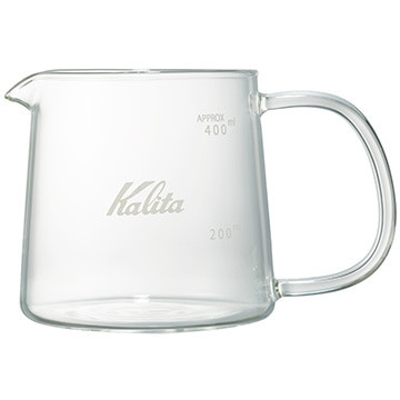 Kalita 耐熱ガラスサーバー Jug400 31276