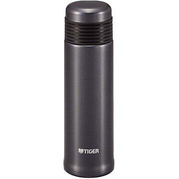 タイガー魔法瓶 ステンレスボトル(サハラスリム) 0.4L メタリックブラック MSE-A040KM
