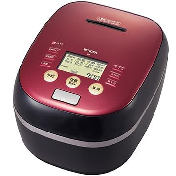 タイガー魔法瓶 土鍋圧力IH炊飯ジャー(炊きたて) 5.5合 ワインブラック JPH-B102KW