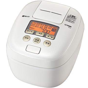 タイガー魔法瓶 圧力IH炊飯ジャー(炊きたて) 5.5合 シルキーホワイト JPC-H100WS